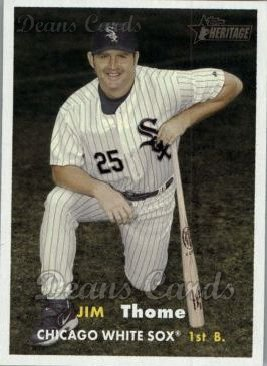 2006 Topps Heritage #129  Jim Thome