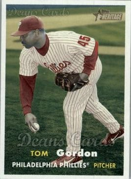 2006 Topps Heritage #14  Tom Gordon