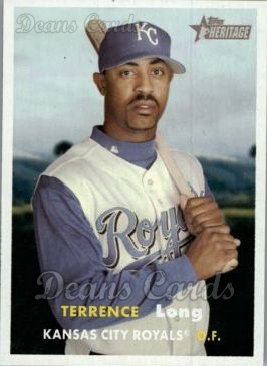 2006 Topps Heritage #147  Terrence Long
