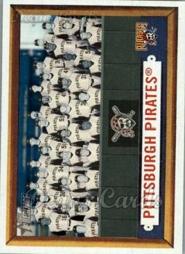2006 Topps Heritage #161   Pittsburgh Pirates Team