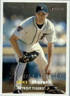 2006 Topps Heritage #163  Mike Maroth