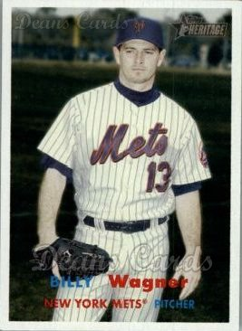 2006 Topps Heritage #174  Billy Wagner