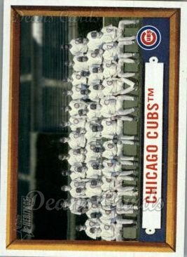 2006 Topps Heritage #183   Chicago Cubs Team