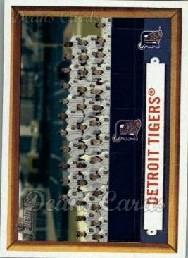 2006 Topps Heritage #198   Detroit Tigers Team