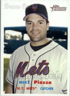 2006 Topps Heritage #2  Mike Piazza