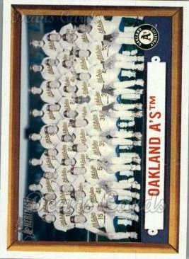 2006 Topps Heritage #204   Oakland Athletics Team