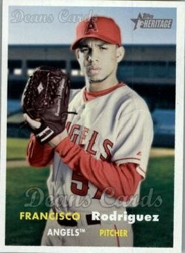 2006 Topps Heritage #207  Francisco Rodriguez