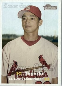 2006 Topps Heritage #213  So Taguchi