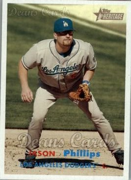 2006 Topps Heritage #230  Jason Phillips