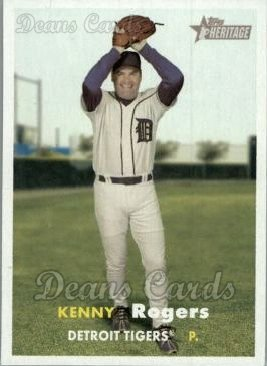 2006 Topps Heritage #238  Kenny Rogers