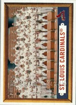 2006 Topps Heritage #243   St. Louis Cardinals Team