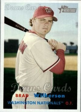 2006 Topps Heritage #253  Brad Wilkerson