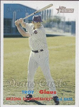 2006 Topps Heritage #271  Troy Glaus