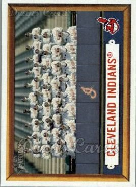 2006 Topps Heritage #275   Cleveland Indians Team