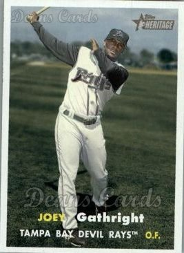 2006 Topps Heritage #279  Joey Gathright