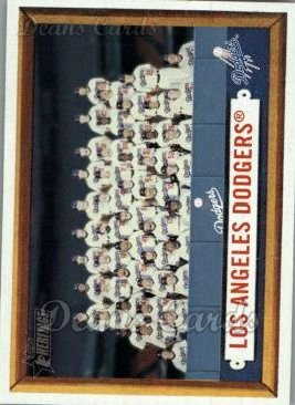 2006 Topps Heritage #324   Los Angeles Dodgers Team