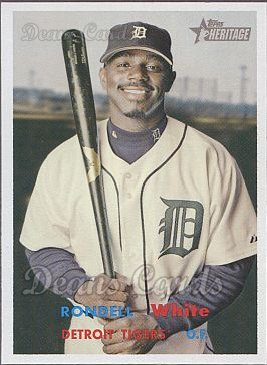 2006 Topps Heritage #332  Rondell White