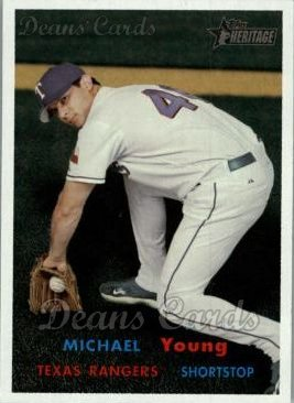 2006 Topps Heritage #334  Michael Young