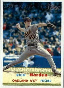 2006 Topps Heritage #338  Rich Harden