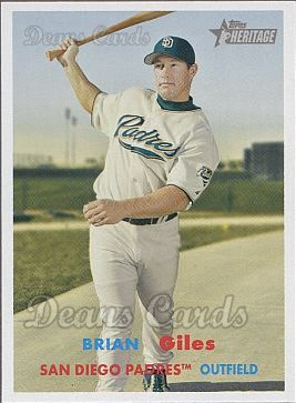 2006 Topps Heritage #346  Brian Giles