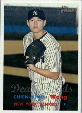 2006 Topps Heritage #349  Chien-Ming Wang