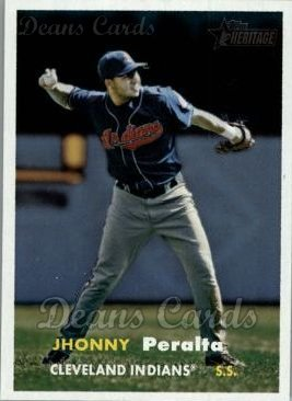 2006 Topps Heritage #365  Jhonny Peralta