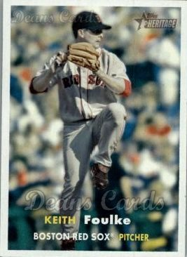 2006 Topps Heritage #369  Keith Foulke