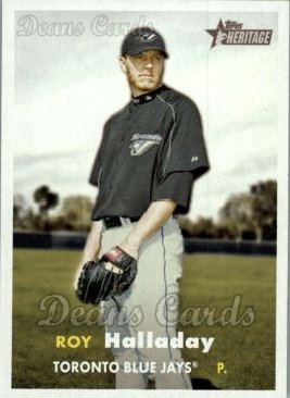 2006 Topps Heritage #416  Roy Halladay