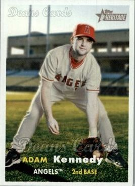 2006 Topps Heritage #434  Adam Kennedy