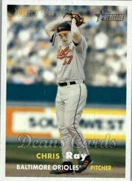 2006 Topps Heritage #445  Chris Ray