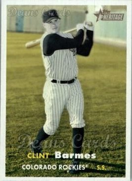 2006 Topps Heritage #446  Clint Barmes