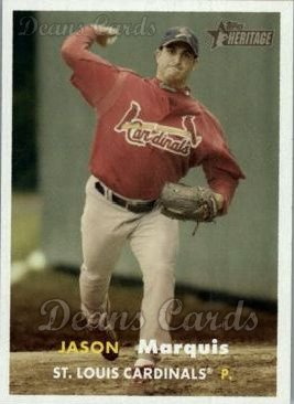 2006 Topps Heritage #453  Jason Marquis