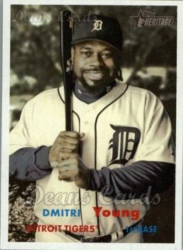 2006 Topps Heritage #74  Dmitri Young