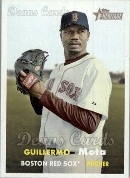 2006 Topps Heritage #81  Guillermo Mota