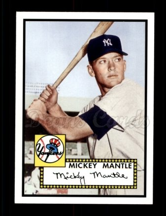 2006 Topps Rookie of the Week #1  Mickey Mantle