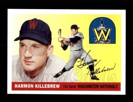 2006 Topps Rookie of the Week #10  Harmon Killebrew
