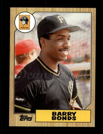 2006 Topps Rookie of the Week #2  Barry Bonds
