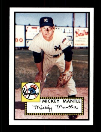 2006 Topps Rookie of the Week #25  Mickey Mantle