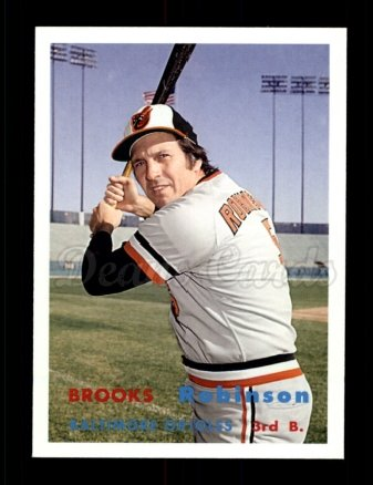 2006 Topps Rookie of the Week #9  Brooks Robinson