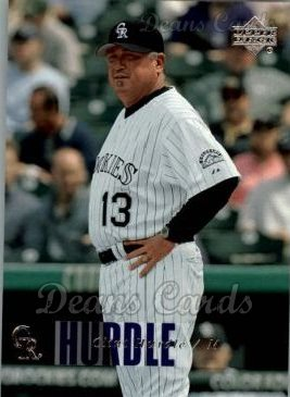 2006 Upper Deck #1065  Clint Hurdle