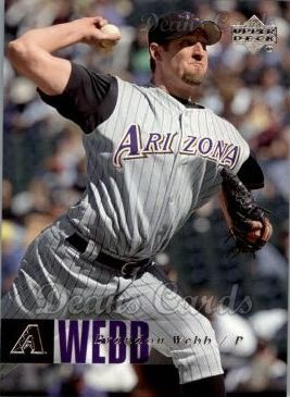 2006 Upper Deck #20  Brandon Webb
