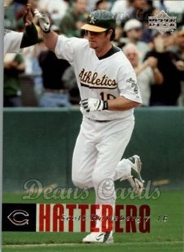 2006 Upper Deck #337  Scott Hatteberg