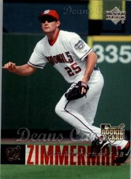 2006 Upper Deck #498  Ryan Zimmerman