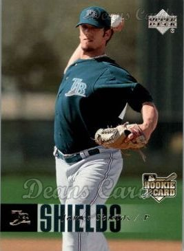 2006 Upper Deck #981  Jamie Shields