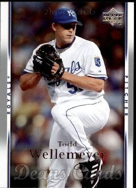 2007 Upper Deck #131  Todd Wellemeyer