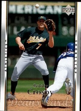 2007 Upper Deck #178  Bobby Crosby