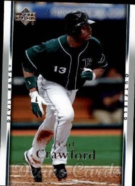 2007 Upper Deck #210  Carl Crawford