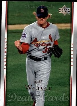 2007 Upper Deck #454  Jeff Weaver