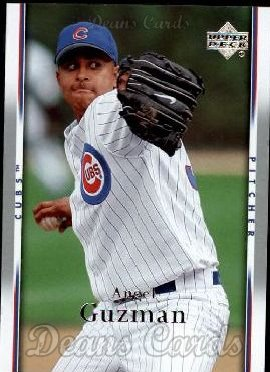 2007 Upper Deck #594  Angel Guzman