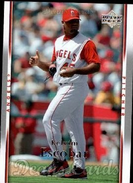 2007 Upper Deck #754  Kelvim Escobar